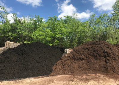 Black Mulch - Chocco Brown Mulch