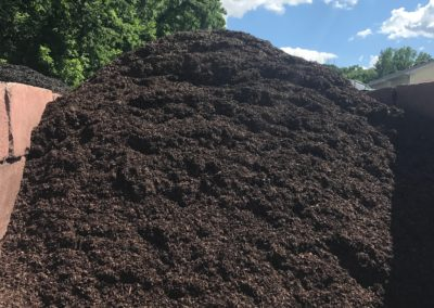 Brown Cedar Mulch