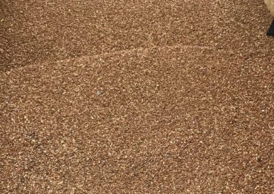 Half Inch Pea Gravel Panoramic