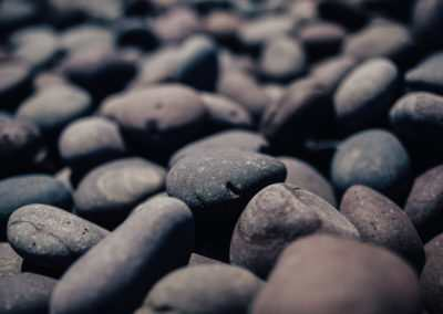 Lilac Mexican Beach Pebbles