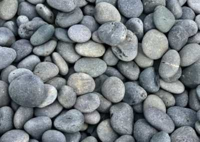 Mexican Beach Pebbles Close Up